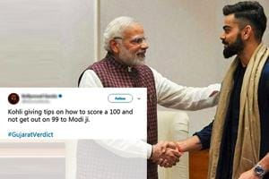 'Out on 99': Twitter turns Virat-Anushka's meet with Modi into...