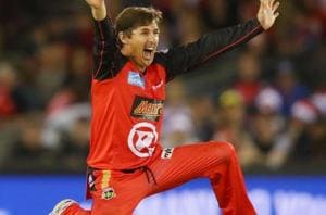 'Ageless' Brad Hogg becomes the oldest cricketer to take a T20 wicket