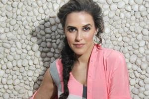 Neha Dhupia:I've always been on the stage to give awards; this was...