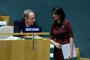 US will remember this day: Envoy Nikki Haley on UN Jerusalem vote