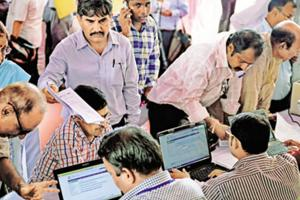 A special camp for government employees to help file their Income Tax Returns (ITRs).