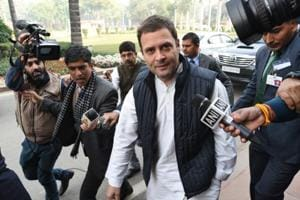 Rahul Gandhi to chair first CWC meeting as Congress chief on Friday