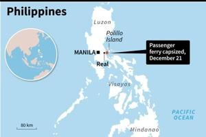 Philippine ferry capsizes with 251 on board, four reported dead