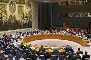 Pakistan links Kashmir issue to Palestinian crisis at UNSC
