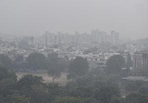 The minimum temperature in the city was recorded at 9.7°C on Thursday and the maximum was recorded at 23.4°C.