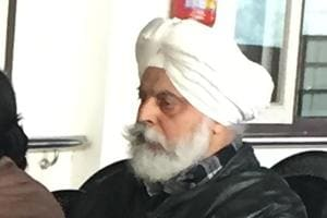 Former Punjab senior division judge Manmohan Singh Walia in the special CBI court in Chandigarh on Thursday.