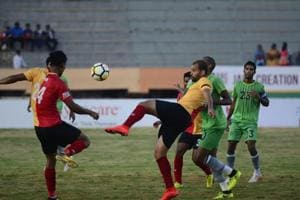 East Bengal edged past ChennaiCity in I-League on Friday.