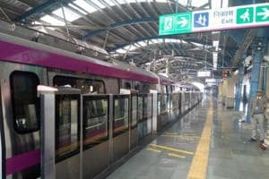 Here's the first look of Delhi Metro's Magenta Line set to open on...