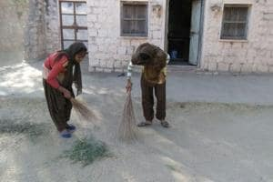 In Rajasthan school, students double up as cleaning staff