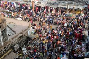Street vendors are occupying around 90% of the road in some areas of the market and the situation is such that no one can even think of driving a car through this area during daytime.