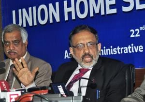 Union home secretary Rajiv Gauba visited Assam last week to review security preparedness ahead of draft NRC publication.