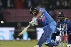 Rohit Sharma created history by blasting the joint-fastest century in Twenty20 Internationals as India crushed Sri Lanka by 88 runs to clinch the series 2-0.