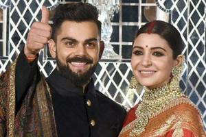 Virat Kohli, Anushka Sharma's wedding reception in Delhi - stars...