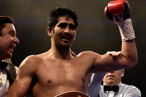 Vijender Singh not taking anything for granted ahead of Ernest Amuzu...