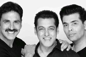 In January, Salman Khan had tweeted about joining hands as a producer with Karan Johar for the film featuring Akshay Kumar.
