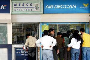 Air Deccan takes wings again, flies to Jalgaon