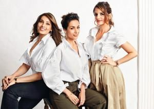 HT Brunch got these glam girls together for a party game