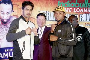 Live - Vijender Singh vs Ernest Amuzu, WBO Oriental & Asia Pacific...