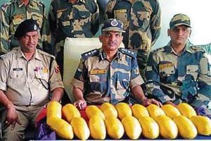 Heroin seizure of 342kg has been reported in Punjab.