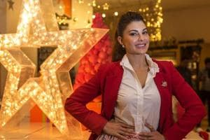 """Jacqueline Fernandez says her parents """"always used to do something fun around Christmas"""" for her and her siblings."""