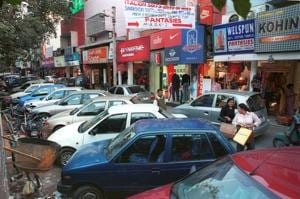 Shopkeepers of Greater Kailash I, M Block market on Saturday started shifting their stock to other places in order to be not caught off guard like their Defence Colony counterparts.