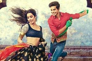 Janhvi Kapoor joins Ishaan Khatter's family including Shahid at a film...
