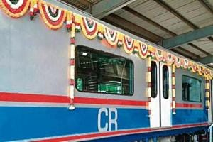 The train will start its maiden journey from Andheri at 2.10pm and reach Churchgate around 2.44pm.