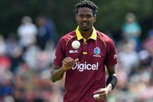 West Indies paceman Ronsford Beaton reported for suspect action