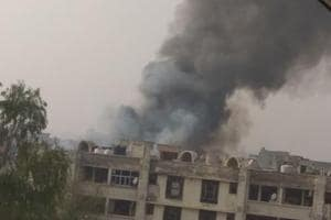 Major fire at biscuit godown near Zirakpur