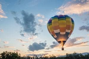 Now get ready for a 10-day hot air balloon festival on the banks of...