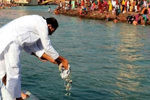 Union minister Satya Pal Singh had said immersion of dead people's ashes into the Ganga by Hindus adds to the river pollution.