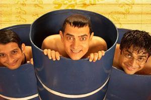 Aamir Khan, Ranganathan Madhavan and Sharman Joshi starring 3 Idiots completes 8 years today.