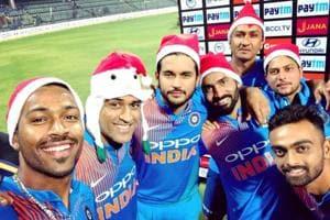 Merry Christmas: Indian cricket team in festive mood after Sri Lanka...