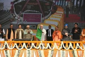 Photos: Delhi Metro's Magenta Line inaugurated by PM Modi
