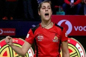 Carolina Marin justified her World No. 3 billing by defeating Michelle...