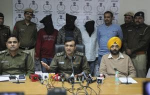 In one of the most sensational crimes to hit Gurgaon this year, gold worth ₹10 crore was stolen from a Manappuram branch on Railway Road. With the help of CCTV footage and local intelligence, the police caught the accused with the loot.