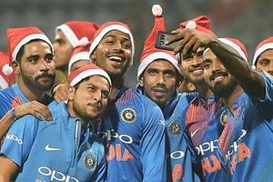 It's a 'Merry Christmas' for Indian cricket team...