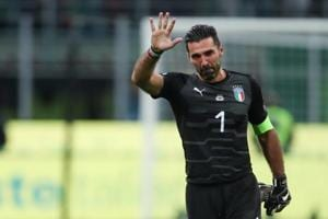 Gianluigi Buffon says is available for Italy, Juventus 'even at 80'