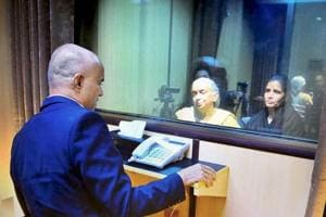 Kulbhushan Jadhav's meeting with wife, mother obscured by glass...
