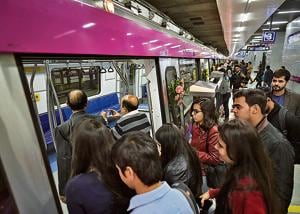 The Magenta Line of Delhi Metro was inaugurated by Prime Minister Narendra Modi and opened for the general public  on Monday.