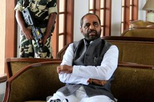 Hansraj Ahir miffed with doctors skipping hospital event