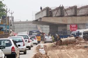 Chandigarh-Patiala highway: Banur flyover set to miss deadlinefor...