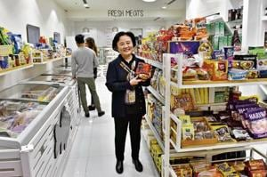 The Seela Food Mart in South Point Mall at the Golf Course Road offers popular Korean food items such as Kimchi and Soybean paste, while it also having locally-manufactured products on their shelves.
