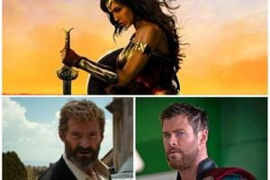 Wonder Woman, Logan and Thor Ragnarok: It was a great year for superhero films, and blockbusters.