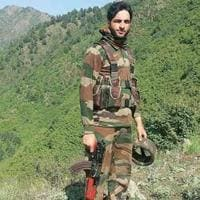 Hizbul Mujahideen commander Burhan Wani, who was killed in July 2016.