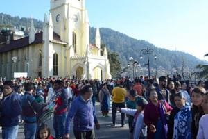White Christmas eludes Shimla, Manali again as tourists throng hill...
