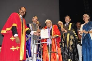 Oldest student: 98-year-old receives master's degree from Nalanda...