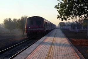 Photos: In Rajasthan, a railway station run by the people