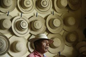 Photos: UNESCO cultural heritage tag for Panama's straw hats