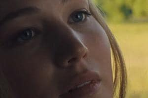 Jennifer Lawrence in a still from Darren Aronofsky's mother!